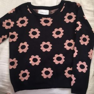 Urban Outfitters Flower Power Small Sweater!